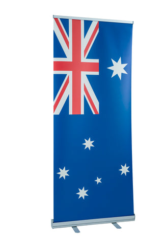 Australian Flag roll up banner