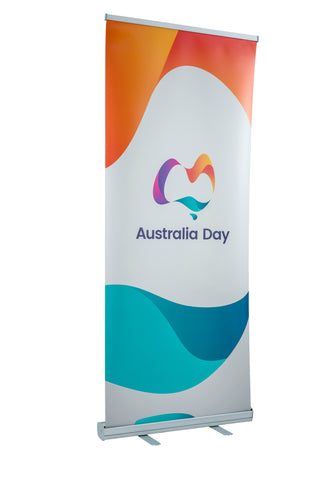 Australia Day roll up banner
