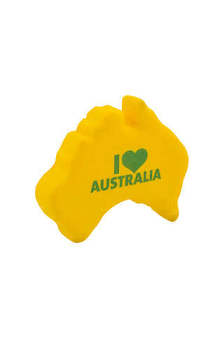 Australia shaped stress toy