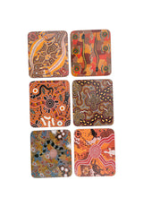 Tableware Coasters - Aboriginal Design