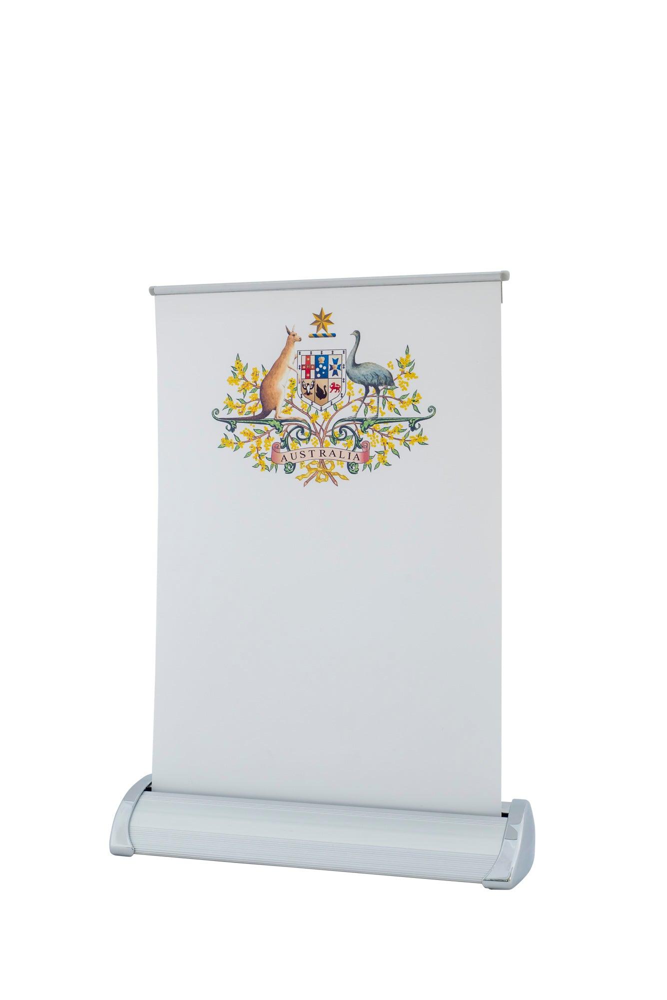 Coat of Arms pull up banner (A4 Size)