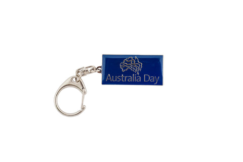 Keyring Metal - Australia Day
