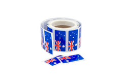 Sticker Australian Flag - 200