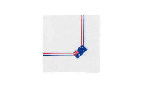 Australian Flag Serviettes (Pack of 50)