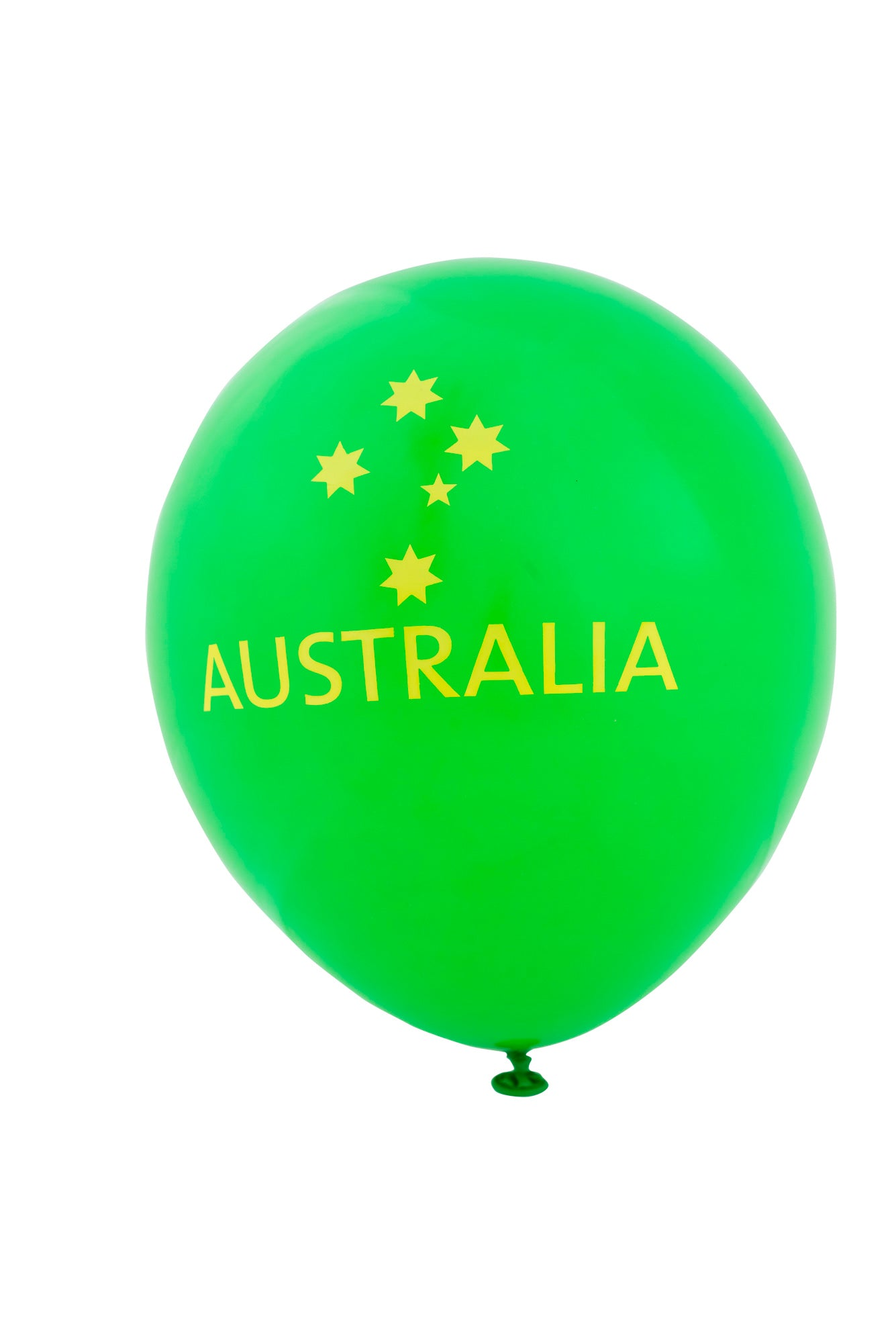 Australia Balloons- Southern Cross Green and Gold