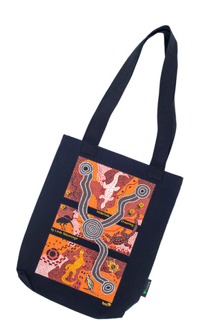 'Waterhole Dreaming' Tote Bag