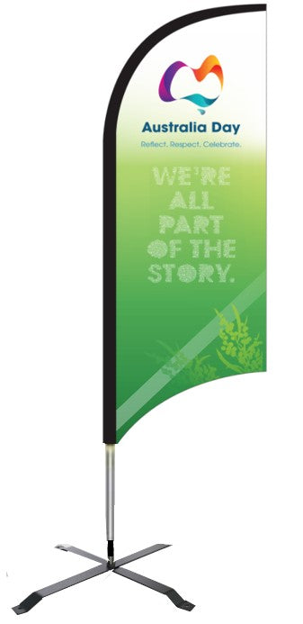 We're all part of the story - bow banner