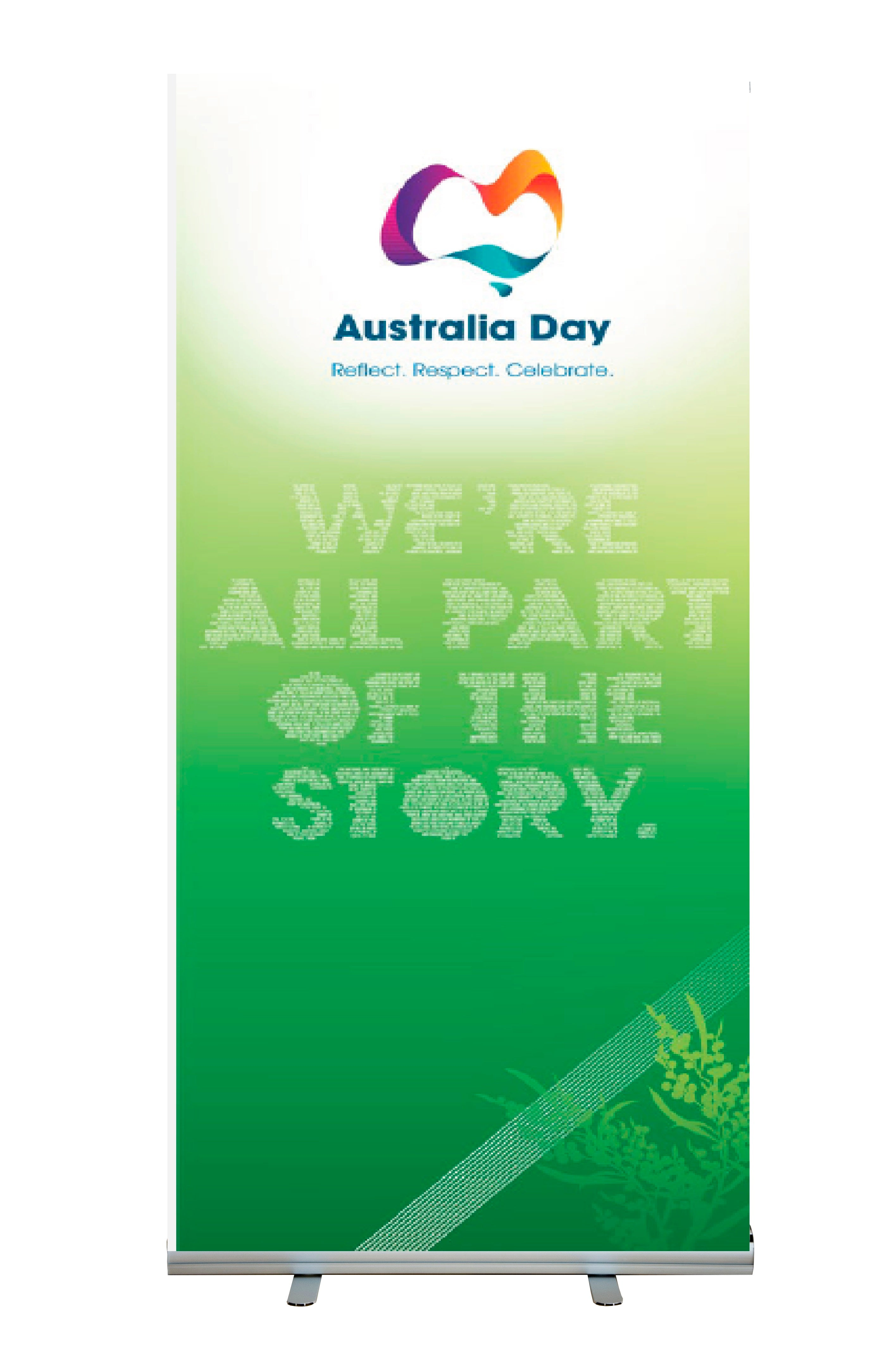 We're all part of the story - Pull Up Banner