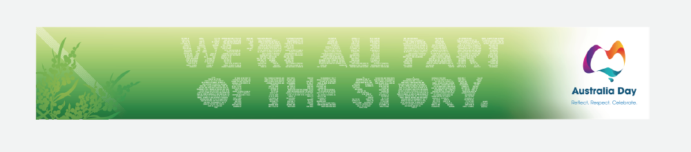 We're all part of the story - Road Banner
