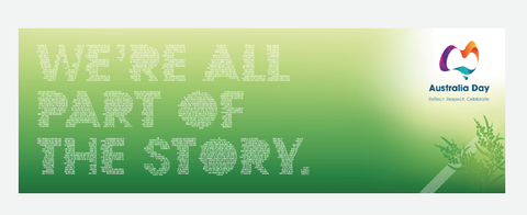 We're all part of the Story - Vinyl Banners