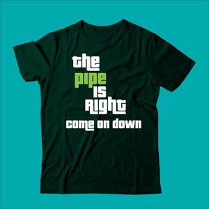 Pipe is Right Tee