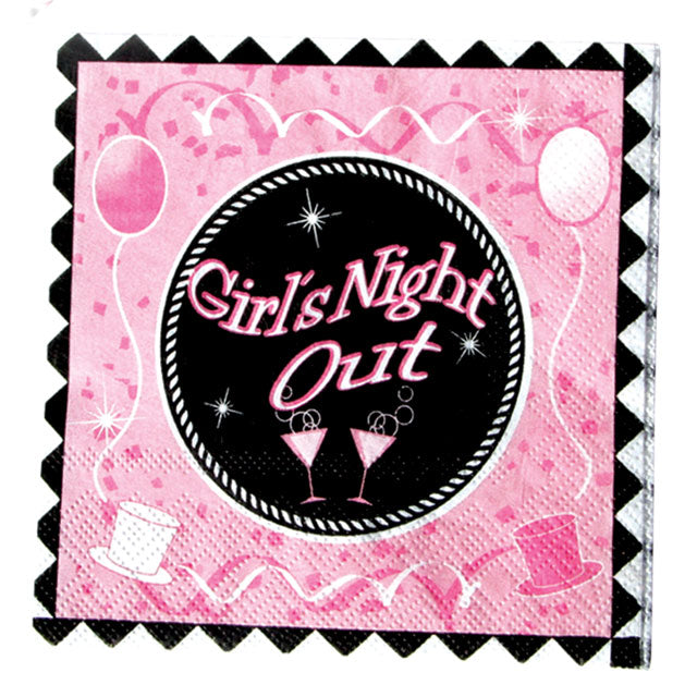 Girls Night Out napkins 10pk