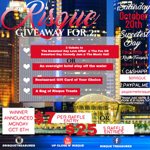 Risque Giveaway for 2