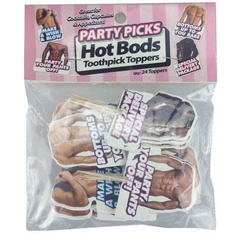 Hot Bod Party Picks (24 pieces)