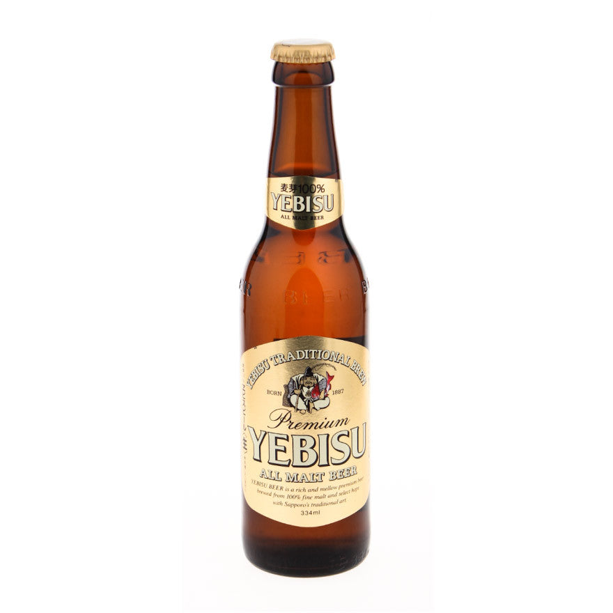 Yebisu Beer - Brewed in Japan - 334ml bottle