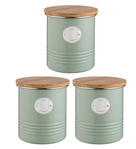 Typhoon Canisters - Set of 3