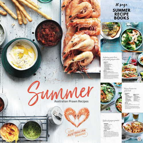 2018 Summer Recipe Book. Box of 200