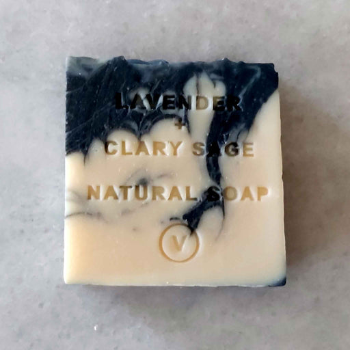 Lavender and Clary Sage - Natural Vegan Soap