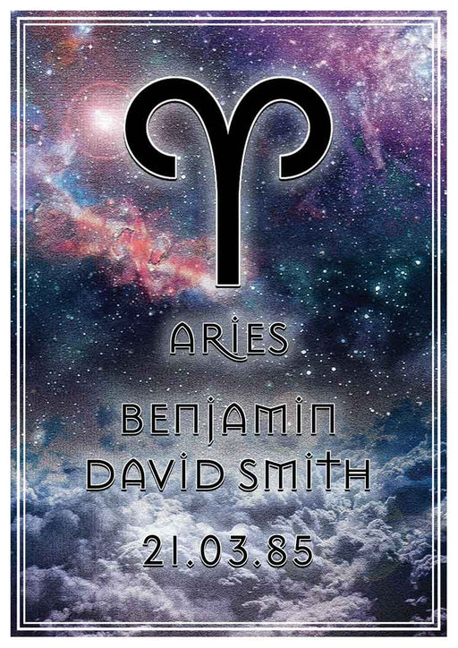 Aries Art Print (Personalised!)