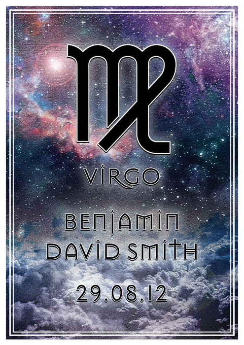 Virgo Art Print (Personalised!)