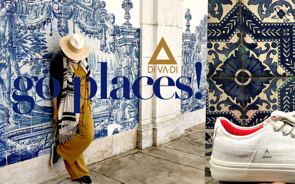 Go places campaign divadi vegan shoe on sale