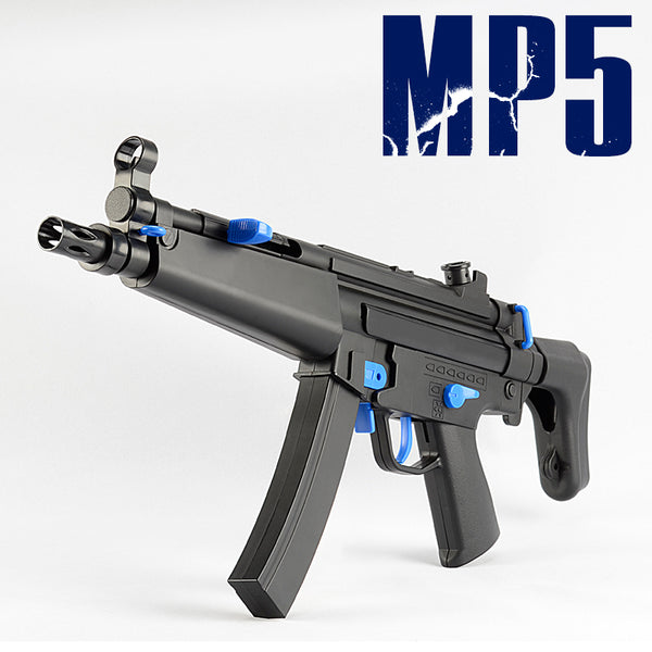 1:1 Full Scale Toy MP5 Submachine Water Gel Ball Blaster Upgraded Motor Black