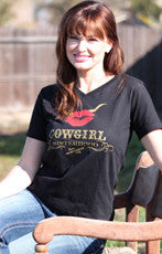 Black Cowgirl Sisterhood Tee