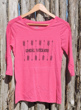 Cowgirl Sisterhood Arrows Tee