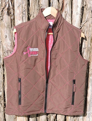 Ladies Brown Vest