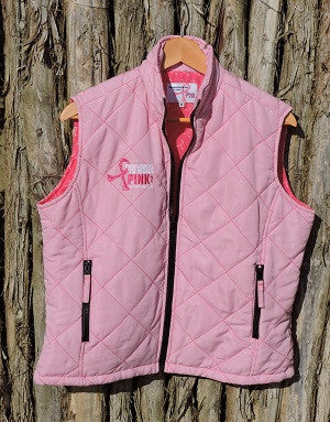 Ladies Light Pink Vest