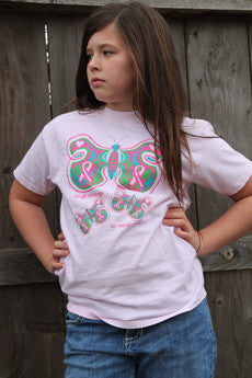 Tough Enough Butterfly Youth Tee