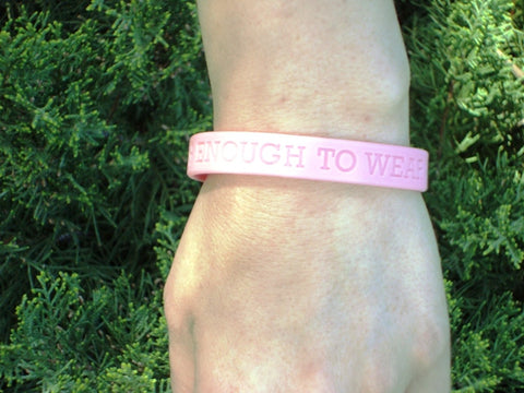 Tough Enough Jelly Bracelet