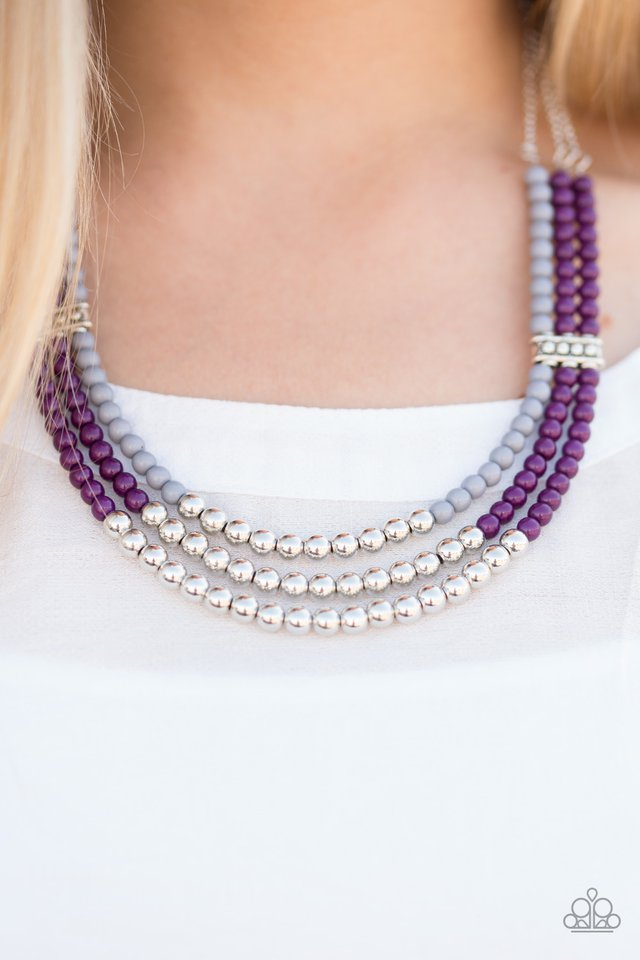 JUST BEAD YOU - PURPLE/MULTI (8700)