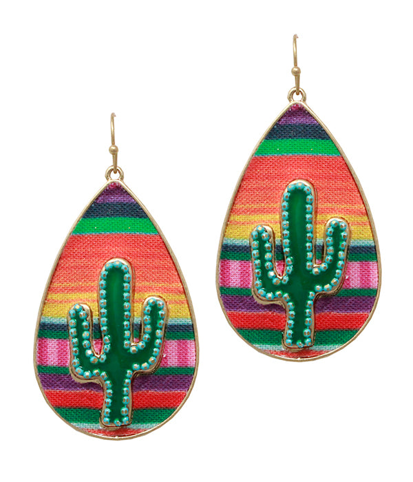 TEARDROP CACTUS (Multiple Colors)
