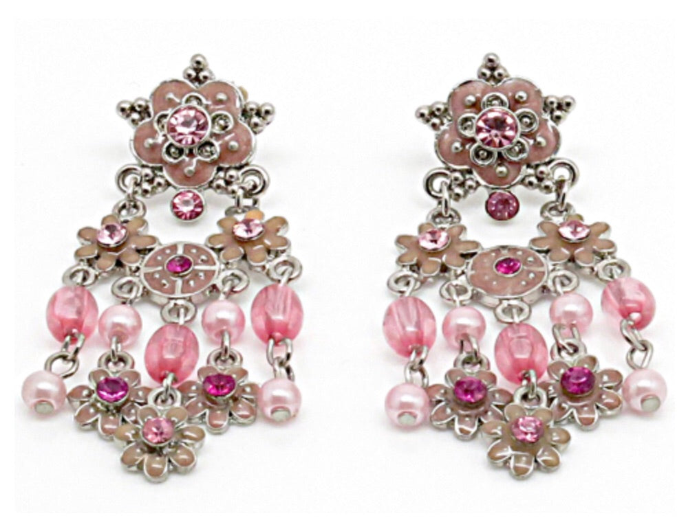 FASHION EARRING - PINK (5546)