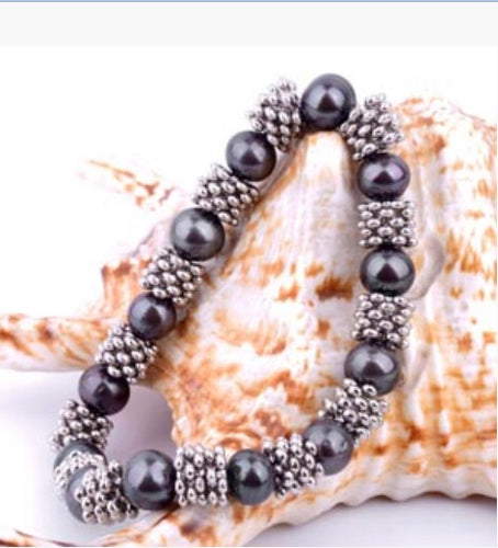 Freshwater Pearl with Antique Bronze (4058)