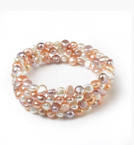 Multicolor Freshwater Cultured Pearls (4059)