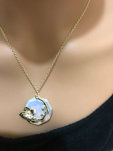 Blossom Fancy Cut Moonstone (8872)
