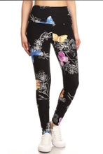 Buttery Soft Beautiful Butterfly High Waisted Leggings