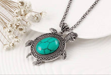 PULSERA COLLAR PENDIENTES ANTIQUE TURTLE SET
