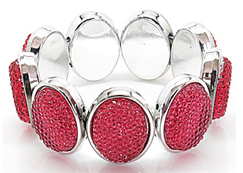 FASHION STRETCH BRACELET - RED