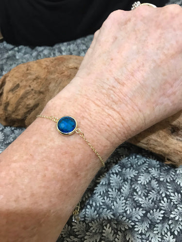 ROUND ABOUT - SWISS BLUE (#2643)