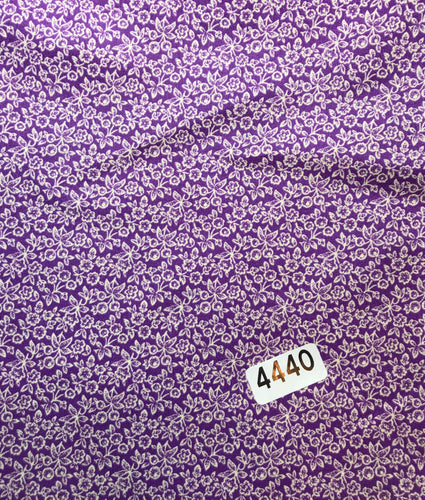 PURPLE FABRIC (#4440)