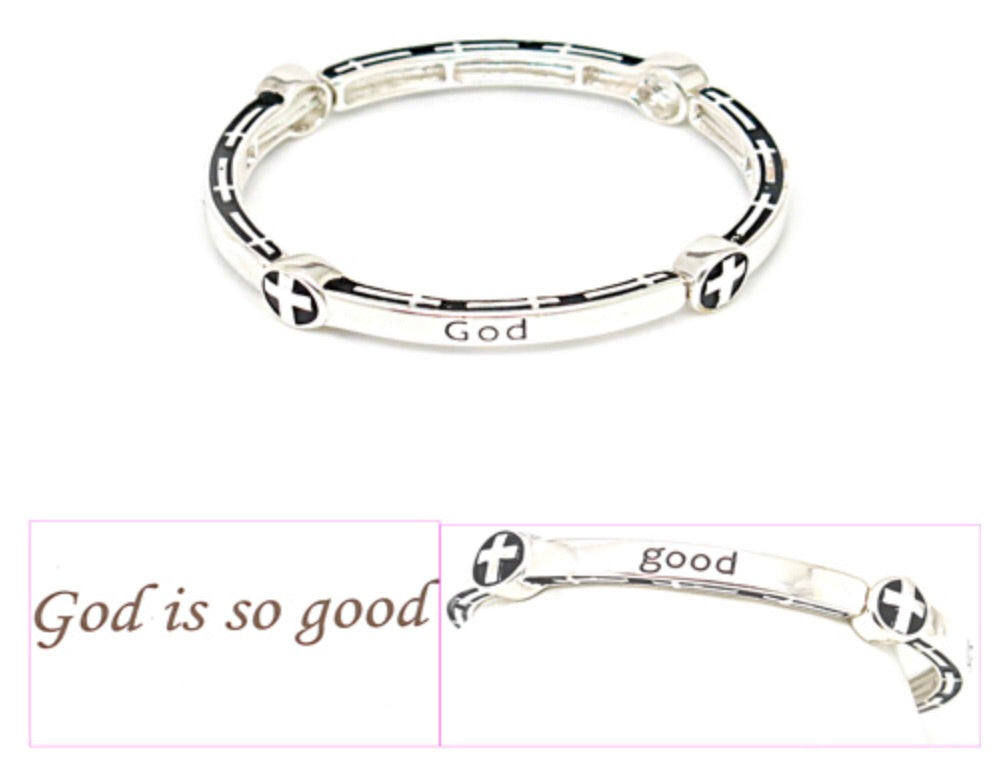 FASHION STRETCH BRACELET - GOD IS SO GOOD