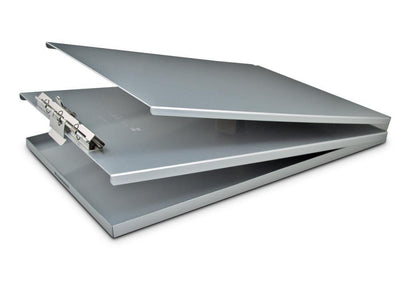 10017 A-Holder; Recycled Aluminium Form Holder Clipboard; Top Opening; A4 Saunders-Normal-Prospectors