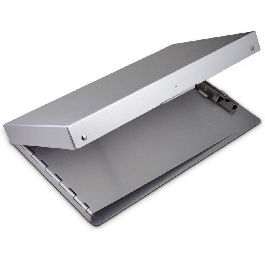 10507 Snapak; Recycled Aluminium Form Holder Clipboard; Side Opening; Memo Size Saunders