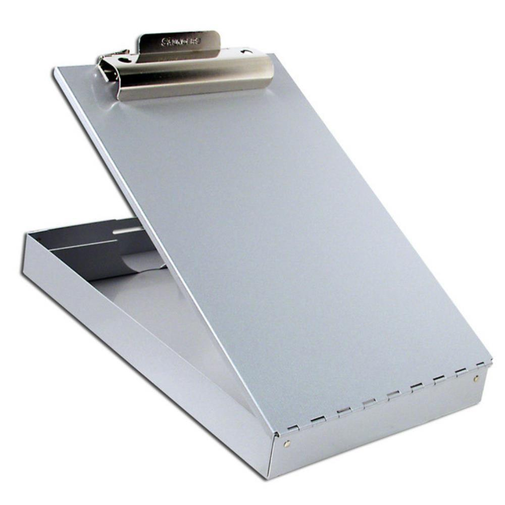 11017 Redi-Rite; Recycled Aluminium Form Holder Clipboard; Bottom Opening; A4 Saunders-Normal-Prospectors