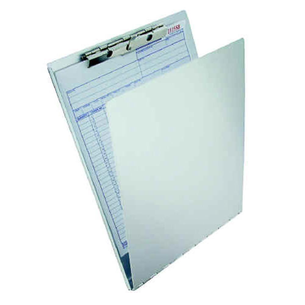 12017 Recycled Aluminium Form Holder Clipboard with Privacy Cover; A4 Saunders-Normal-Prospectors