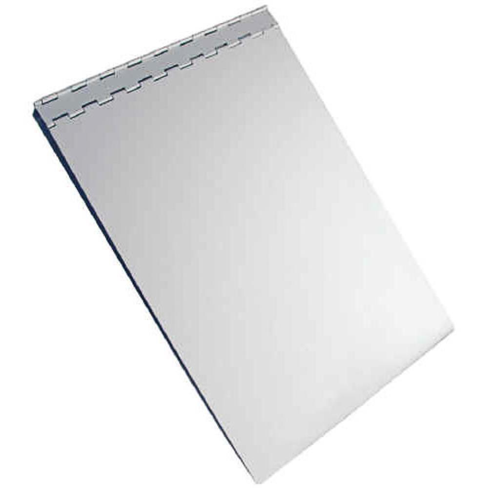 13031 Sheet Holder; Recycled Aluminium Form Holder Clipboard; Bottom Opening; A4 Saunders-Normal-Prospectors