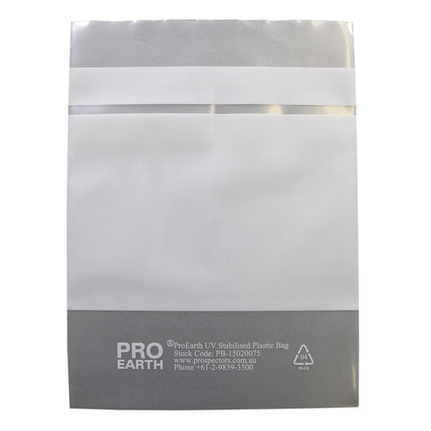 150 X 200mm X 75um 100 UV Stabilised Plastic Bags ProEarth-Normal-Prospectors